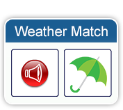 weather matching game