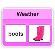 weather words and picture math