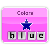 writing words color