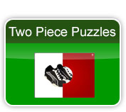 two piece puzzles